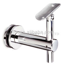 stainless steel pipe bracket wall mounting handrail mirror bracket for balustrades