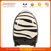 2016 new highlight kids ABS luggage trolley bag child travel luggage