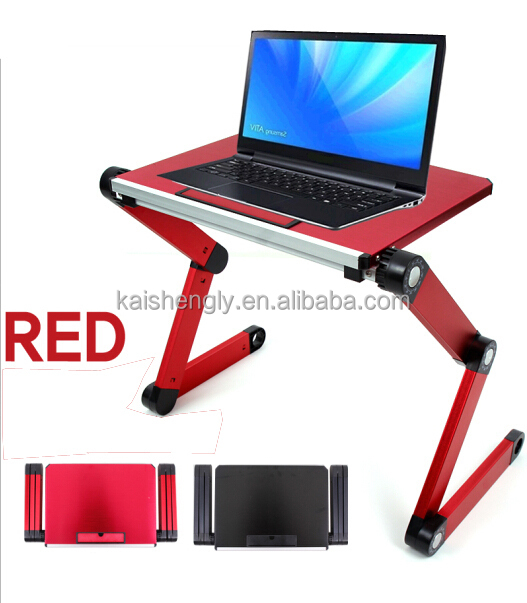 small folding laptop lap desk with cooling fan