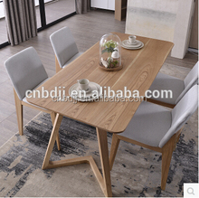 Wholesale modern Alibaba China home furniture oak beech wood dining table set