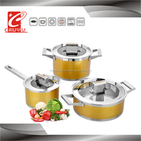 stainless steel colorful wok