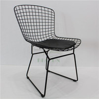 Replica Bertoia Powder Coated Wire Side Chair