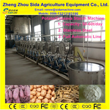 Advanced Tubers Starch Extraction Machine/Cassava Starch Processing Machine/Starch Extruding Production Line