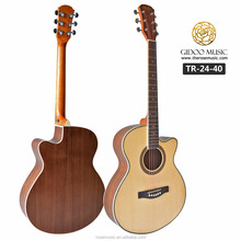 China factory wholesale musical instruments cheap electric guitar acoustic