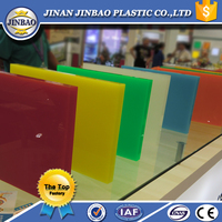 china supplies advertising transparent and color 2-30mm acrylic board