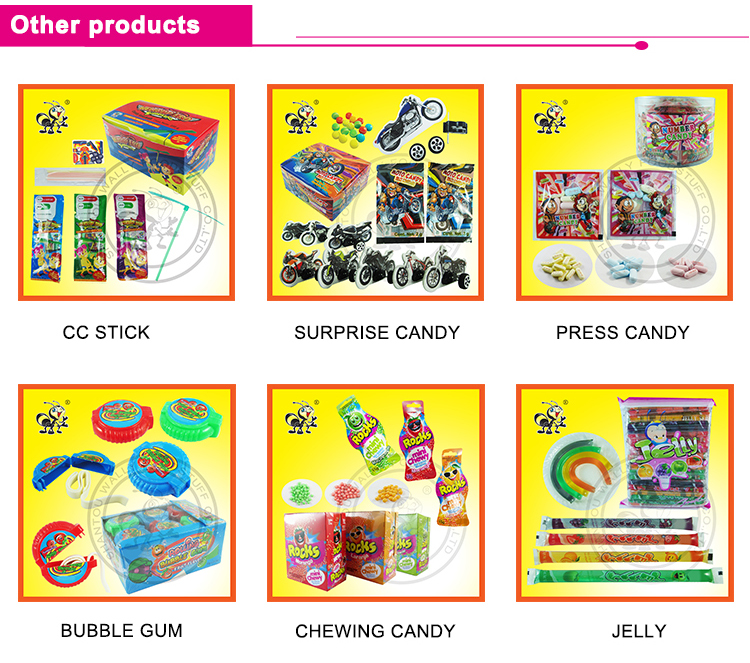 Cartoon Stamp Shape Fruity Pressed Tablet Seal Sugar Candy