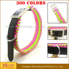wholesale leather dog collars rope