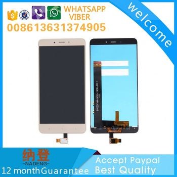 front glass for XiaoMi Redmi note 4 lcd