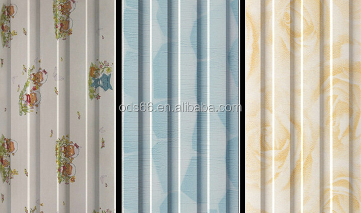 decorative wpc wallboard panels for bedroom decoration