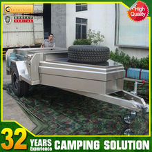 stainless steel camper trailer hire