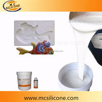 Polyester Resin Crafts Molding Liquid RTV2 Silicone Rubber