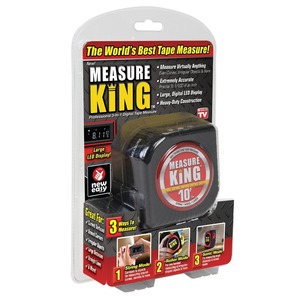 Amazon Hot Selling Useful Measuring Tools New Measuring Tape 3 in 1 Digital Measure King