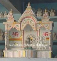 Handicraft Stone and Marble Home Temple