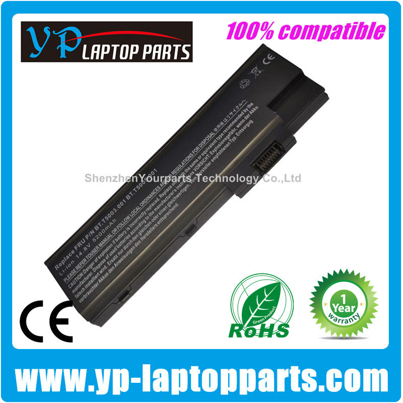 Replacement Laptop Battery For Acer 1410 Battery Aspire 1650 1640 1680 TravelMate 4604 BT.T5003.001 Laptop battery