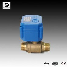 2 way motorized valve 3v 6v 12v 24v 110v 220v for water heater water solenoid water valve
