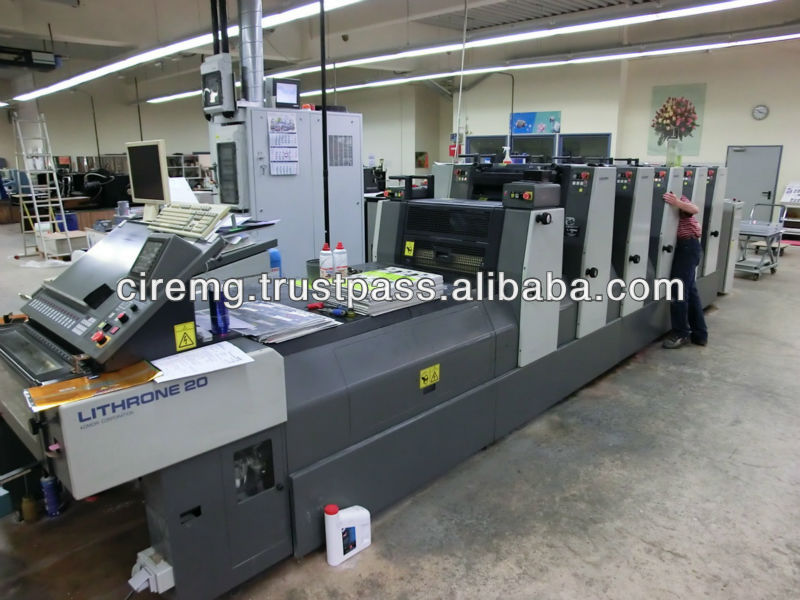 2001 KOMORI LITHRONE L 520 B + C