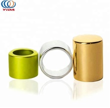 Customized 24mmp Aluminum Trim Disc Top Cap for perfume bottle