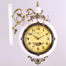 Lucky Art Designer Wall Clock County Home Decor Wholesale