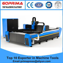 High Power CNC YAG Laser Cutting 8mm thickness Carbon Steel Laser Cautting Machine
