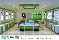 modern glass display cabinet and showcase furniture for sunglasses ,optical store design