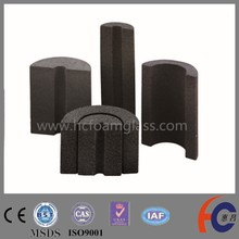 foam glass brick / Meet ASTM /CE/MSDS/ISO/pipe insulation for oil and gas