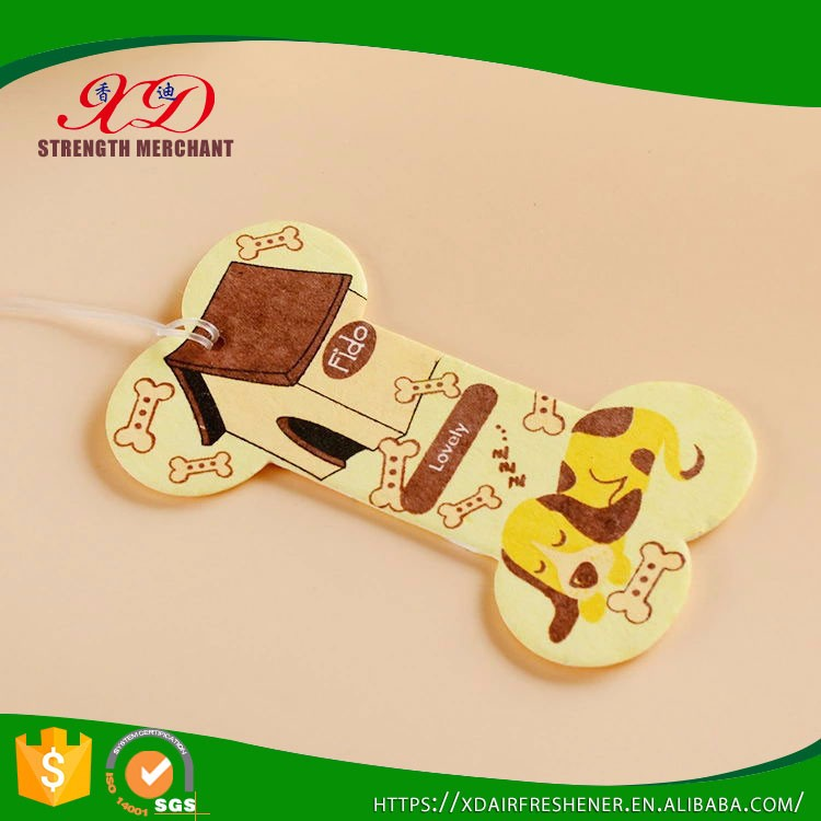 Promotional Gifts Hanging Paper Best Air Freshener for Car