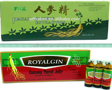 GMP Certified Health Drink Ginseng Royal Jelly Oral Liquid