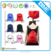 Promotional Gifts Shopping Bag Drawstring Folding Polyester Shopping Drawstring Bag