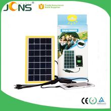 new products 2017 3.7V/3AH solar charger for mobile