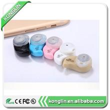 Wholesale price wireless intercom headset on earbuds free shipping super mini bluetooth headset with high quality