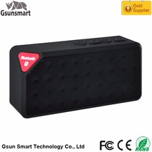 High Quality Mini Cube Stereo X3 Bluetooth Mini Wireless Speaker with USB On Alibaba