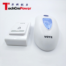 Wireless Electric Door Bell with 1 Remote Control for home