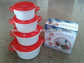 8pc plastic food container