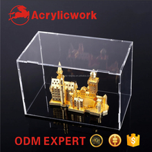freight saving dust proof acrylic dismountable doll/toy/model/shoe display box case