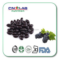 Grape seed extract softgel capsule