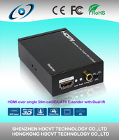 HDMI extender Over single 50m/164ft UTP with IR control with ARC