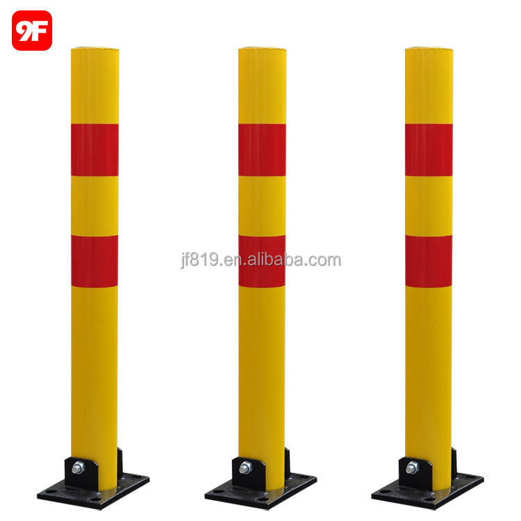 Fold down vehicle security car parking lock parking safety bollard post barrier