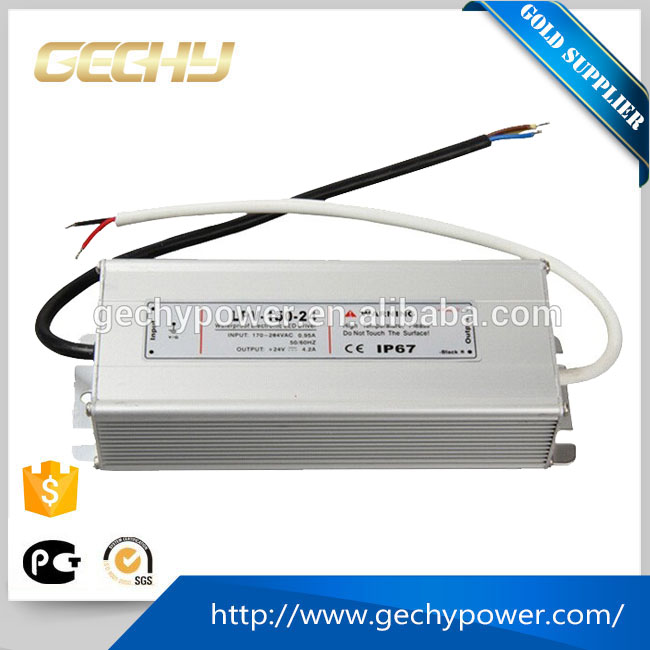 150W 24v DC constant voltage driver waterproof switch model power supply