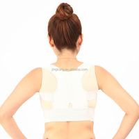 Magnetic therapy posture corrector back support brace for woman&man with CE/FDA certification