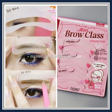 Makeup Tools 3 Types of Eyebrow Design, Eyebrow Stencil Design Kit, Fashion Eyebrow Stencils