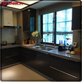 Australia market kitchen cabinet lacquer with MDF door panel modern style home furniture