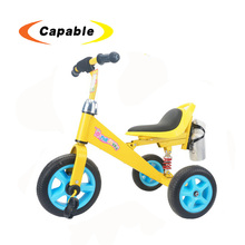 Cheap kids trike 3 wheel baby tricycle with storage light music