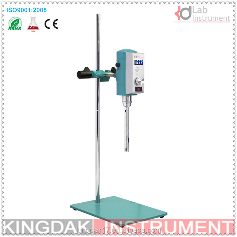 Disperser Mixer KD200L-H Laboratory high shear dispersion homogenizer,High Speed homogenizer <strong>12</strong> & 18 G