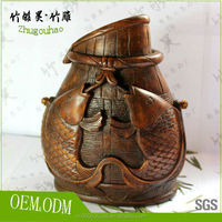 Bamboo root carving crafts / bamboo crafts / Chinese handicrafts