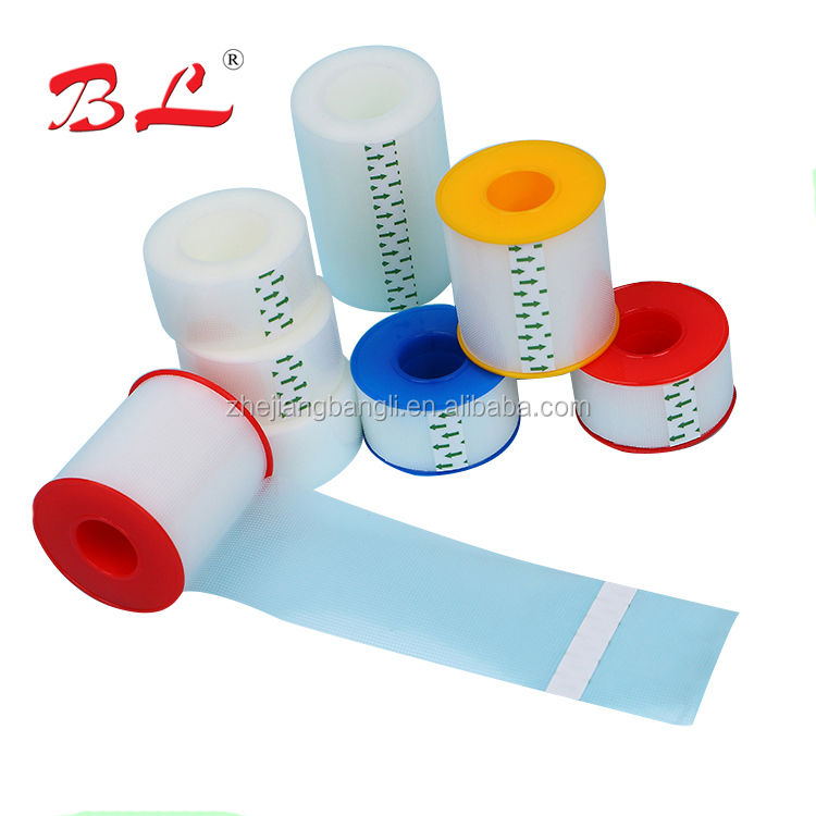 Water resistant surgical/medical tape , polyethylene transparent tape