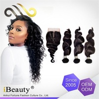 Wholesale hair 100 brazilian hair China alibaba express remy loose wave sensationnel hair weave virgin human hair
