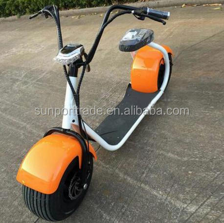 Sunport SP-004 citycoco 1000w harley electric scooter China made EEC approved cheap price gas scooter best sell