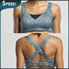 DHL free shipping Wholesale OEM sublimation printing sport bra / quick dry fabric sports bra