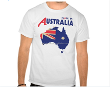 2016 wholesale custom new fashion Australia flag T-shirt