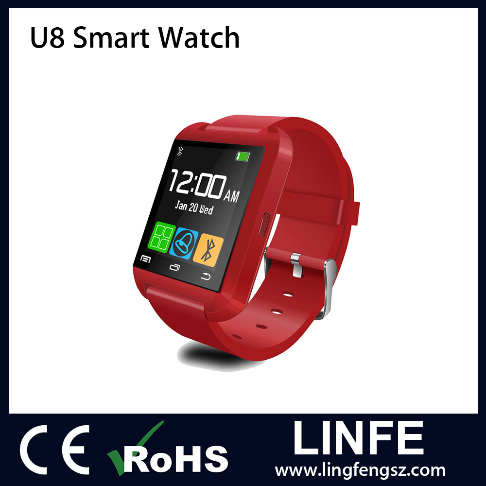 Wholesale 1.44 Inch Smart Watch Android Smart Watch Bluetooth 3.0 U8 Smart Watch